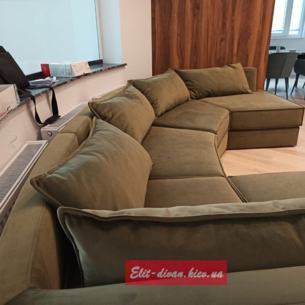 диван нестандартных двух угловой на заказ