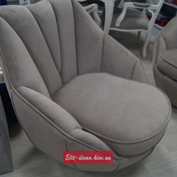 Серые дизайнерские кресла на заказ