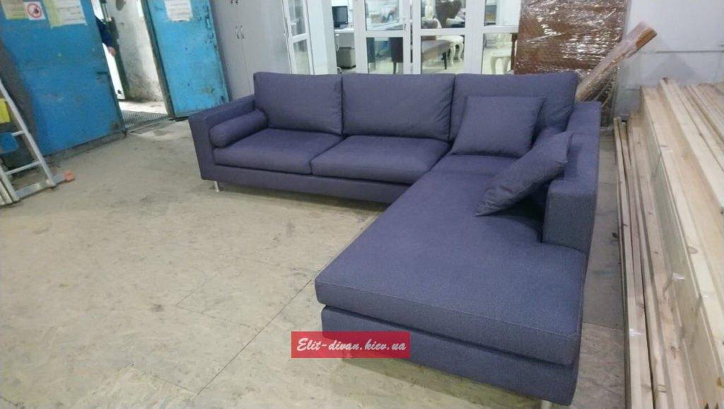 Модульный с-образный диван под заказ