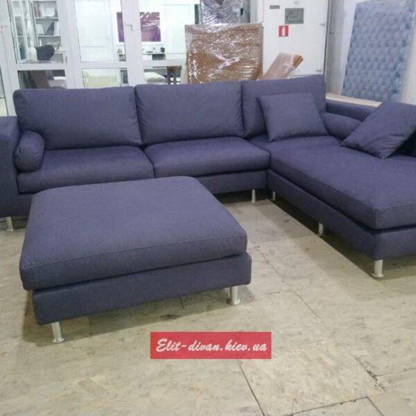 с образный модульный диван с подушками под заказ Киев