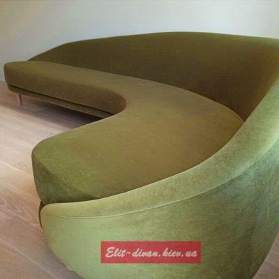 офисный круглый диван