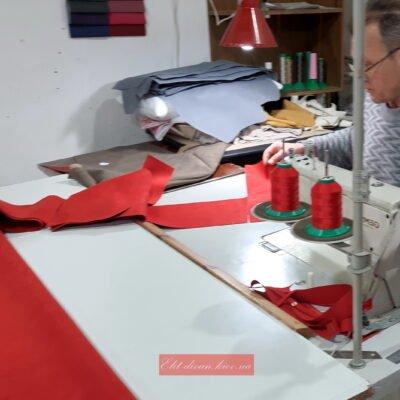 процесс изготовление кресла