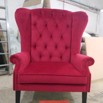 Красное кресло на заказ