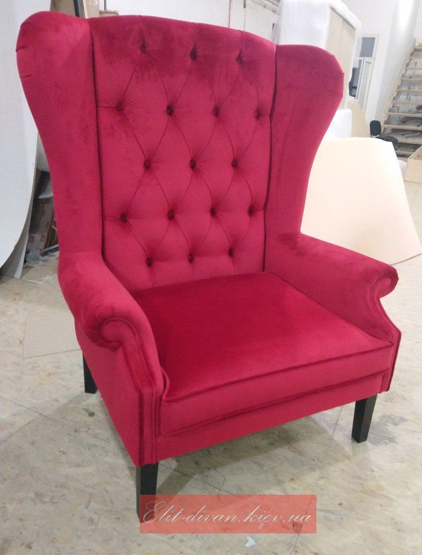 Красное кресло под заказ