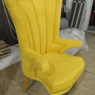 желтое кресо на заказ