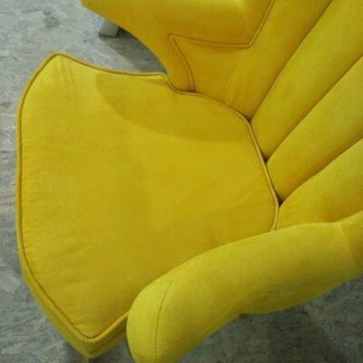 желтая мягкая мебель на заказ