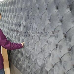 Изготовление панели для кровати мягкой
