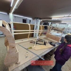 как делают кожаную мягкую мебель на заказ