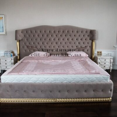 кровать лососевого цвета на заказ